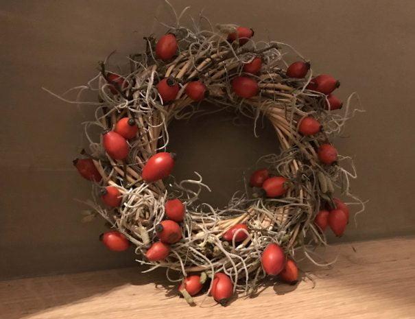 De Hoeve kerstsfeer kerststuk 1